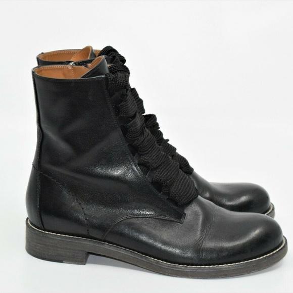 f98c05d8 Chloe Black Harper Lace Up Ankle Boots Size 6.5 US